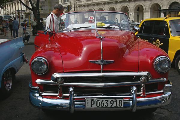 Classic American Cars in Cuba