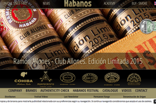 Habanos blog page