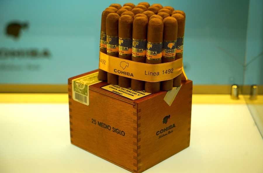 One of the commemorative releases of the 50th anniversary of Cohiba - Cohiba Medio Siglo