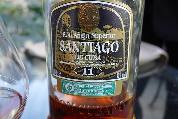 Santiago de cuba, rum