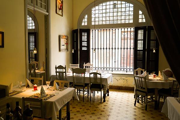 restaurants in havana, casa miglia