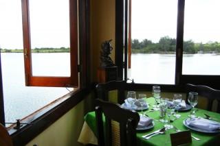 Hemingway's favorite table at La Terraza